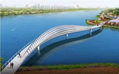 太原汾河人行道桥梁工程