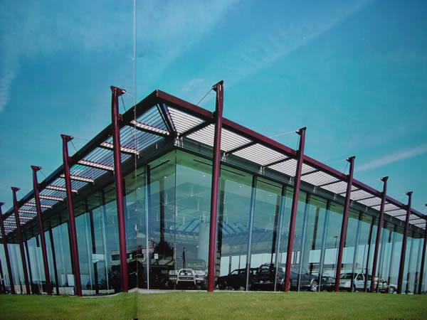 钢结构4S店